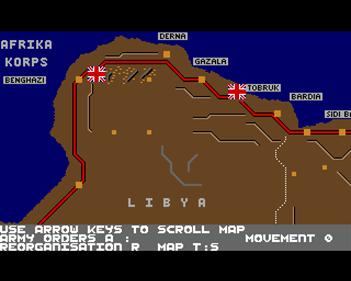 Afrika Korps - Screenshot - Gameplay