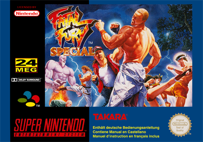 Fatal Fury Special - Box - Front
