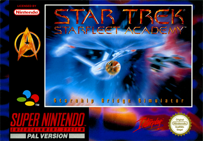 Star Trek: Starfleet Academy: Starship Bridge Simulator - Box - Front