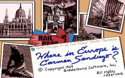 Where in Europe is Carmen Sandiego? - Screenshot - Game Title
