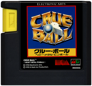 Crüe Ball - Cart - Front