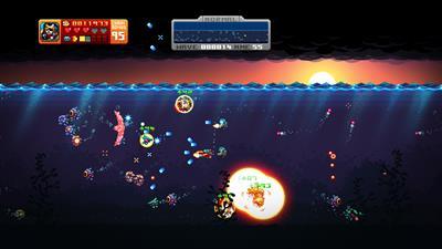 Aqua Kitty: Milk Mine Defender - Screenshot - Gameplay