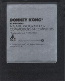 Donkey Kong (Atarisoft) - Cart - Front