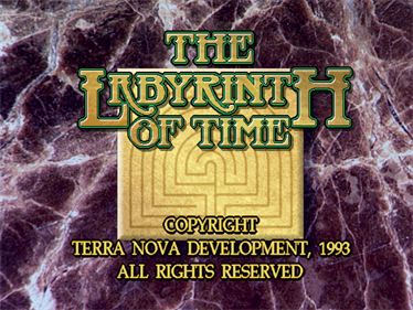 The Labyrinth of Time - Screenshot - Game Title
