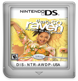 That's So Raven: Psychic on the Scene - Fanart - Cart - Front