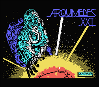Arquímedes XXI - Screenshot - Game Title