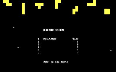 Tetris (1992) - Screenshot - High Scores
