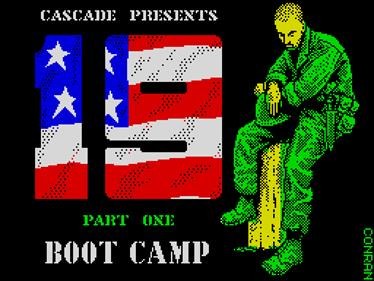 19 Part One: Boot Camp - Screenshot - Game Title