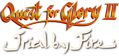 Quest for Glory II: Trial by Fire - Clear Logo