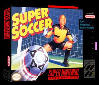 Super Soccer - Box - 3D