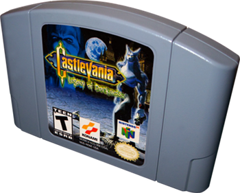 Castlevania: Legacy of Darkness - Cart - 3D