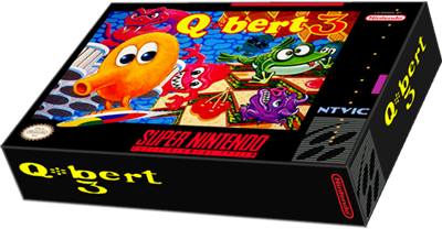 Q*bert 3 - Box - 3D