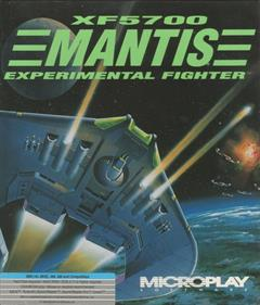 XF5700 Mantis Experimental Fighter - Box - Front