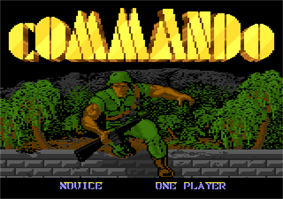 Commando - Screenshot - Game Title