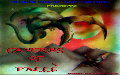 Caverns of Palle - Screenshot - Game Title