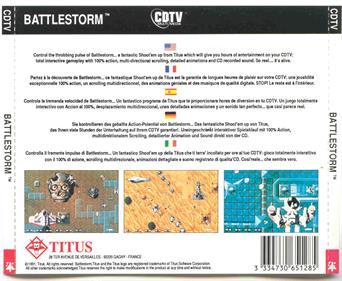 Battlestorm - Box - Back