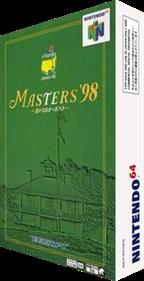 Masters '98: Harukanaru Augusta - Box - 3D
