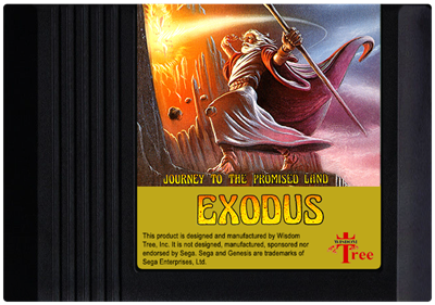 Exodus: Journey to the Promised Land - Cart - Front