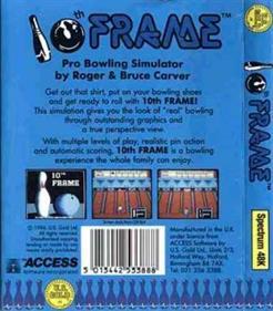 10th Frame - Box - Back
