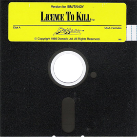007: Licence to Kill - Disc
