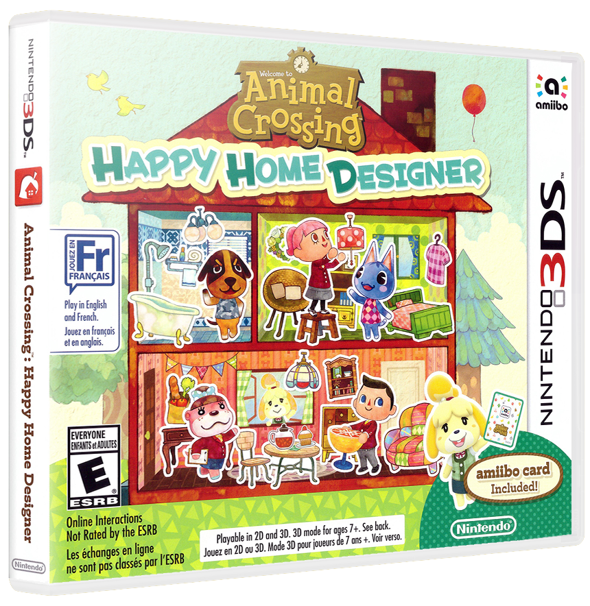 Animal Crossing Happy Home Designer Details - LaunchBox Games Database