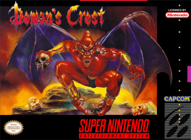 Demon's Crest - Box - Front