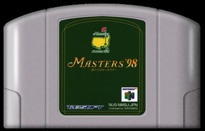 Masters '98: Harukanaru Augusta - Fanart - Cart - Front