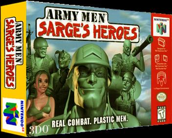Army Men: Sarge's Heroes - Box - 3D
