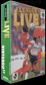J.League Live 64 - Box - 3D