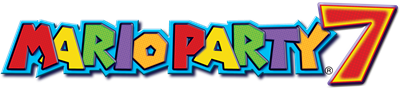 Mario Party 7 - Clear Logo