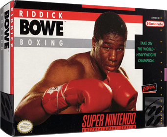 Riddick Bowe Boxing - Box - 3D