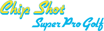 Chip Shot: Super Pro Golf - Clear Logo