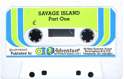 Savage Island Part One - Cart - Front