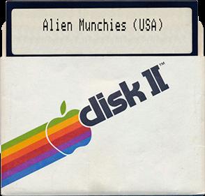 Alien Munchies - Fanart - Disc