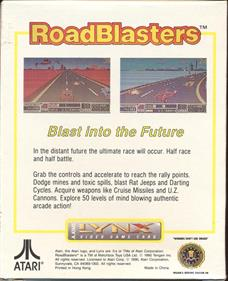 RoadBlasters - Box - Back