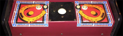 American Horseshoes - Arcade - Control Panel