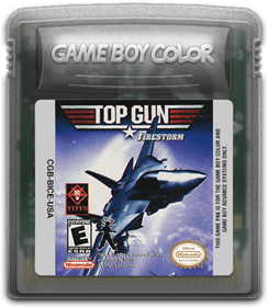 Top Gun: Firestorm - Fanart - Cart - Front