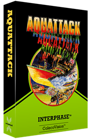 Aquattack - Box - 3D