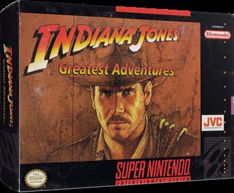Indiana Jones' Greatest Adventures - Box - 3D