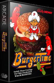 Burger Time - Box - 3D