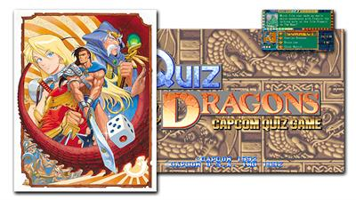 Quiz & Dragons: Capcom Quiz Game - Fanart - Background