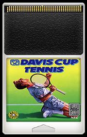 Davis Cup Tennis - Fanart - Cart - Front