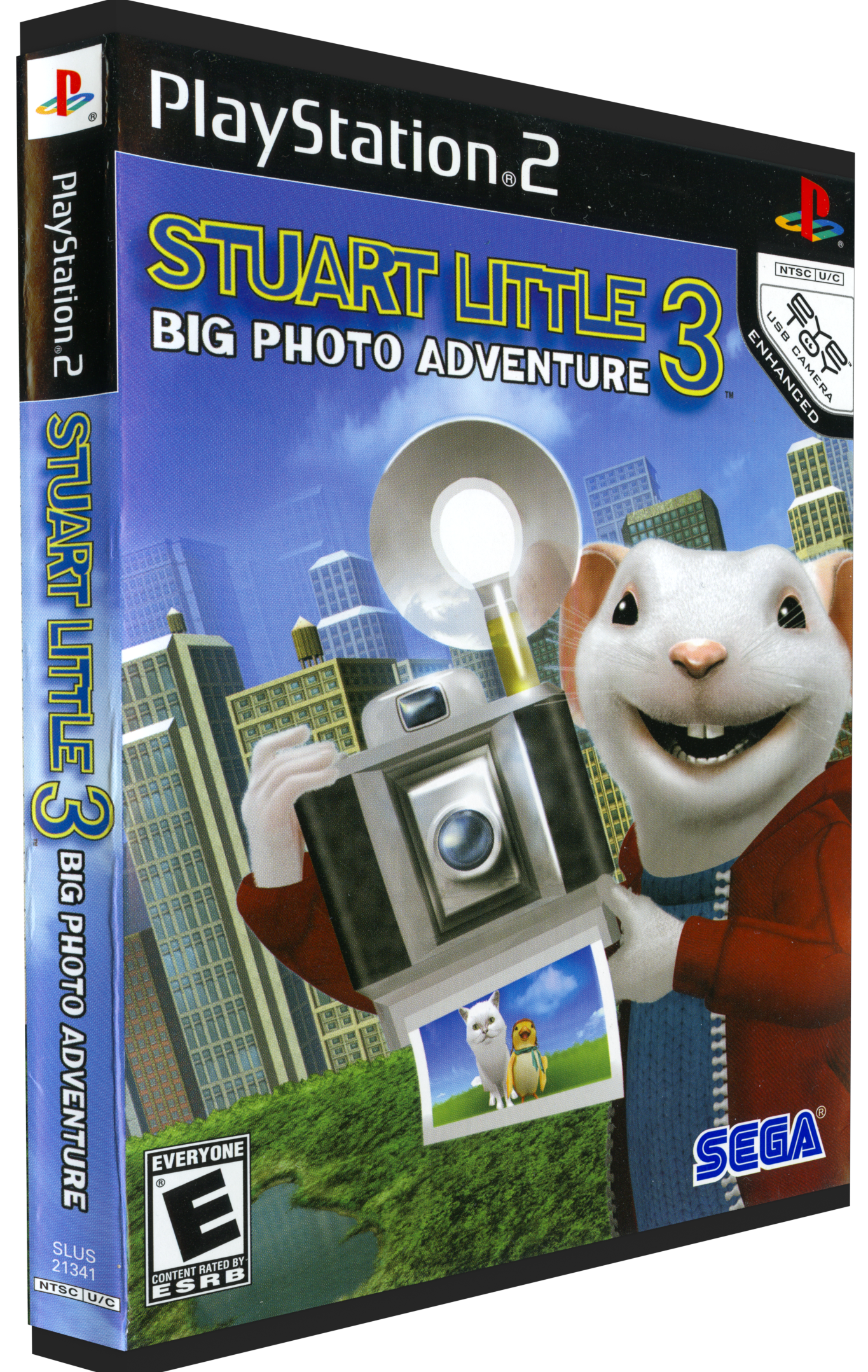 Stuart Little 3 Big Photo Adventure Details Launchbox