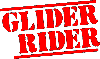 Glider Rider - Clear Logo