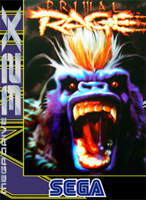 Primal Rage - Box - Front