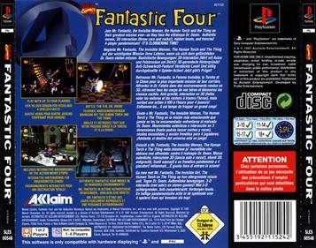 Fantastic Four - Box - Back