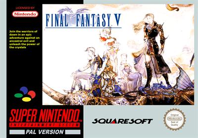 Final Fantasy V - Fanart - Box - Front