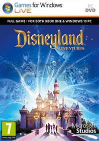 Disneyland Adventures - Box - Front