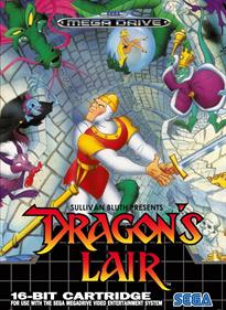 Dragon's Lair: The Adventure Continues - Fanart - Box - Front