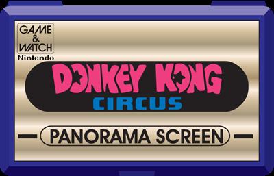 Donkey Kong Circus - Fanart - Cart - Front